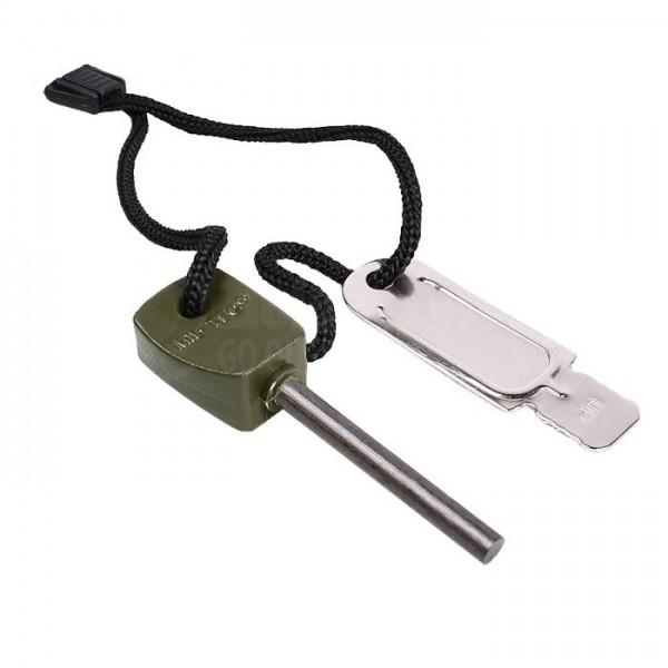 Allume-feu fire steel small  - 2.80€