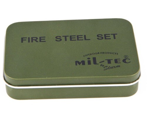 Allume-feu Fire-Steel Mill-Tec Set