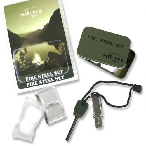 Allume-feu Fire-Steel Mill-Tec Set
