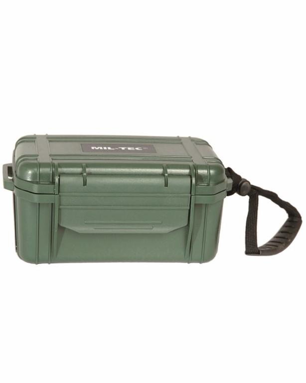 Kit 1er soin Camping boite étanche vert olive