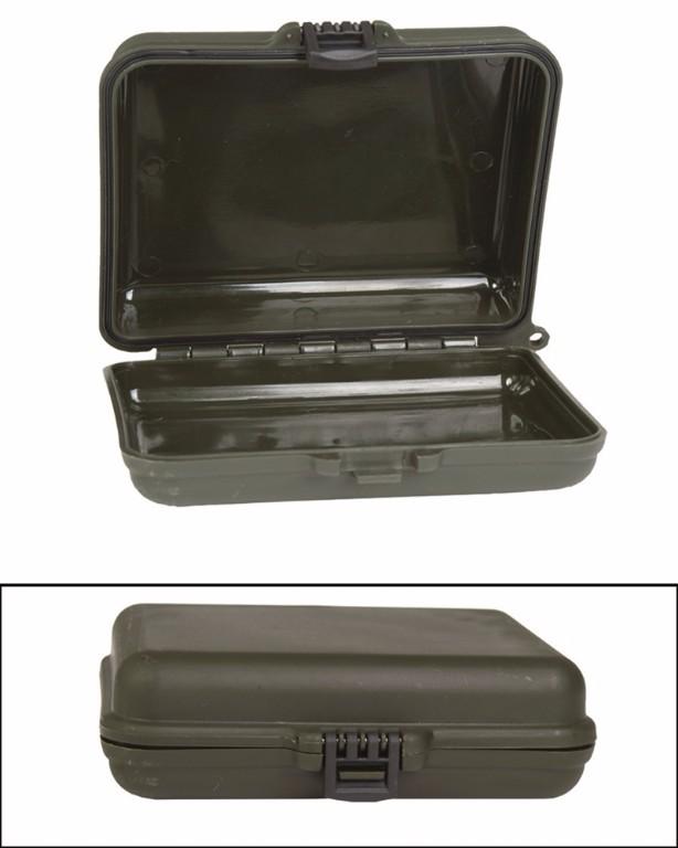 Boîte étanche petit modèle vert olive