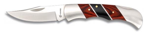 Couteau de poche Acier et bois - 14.70€