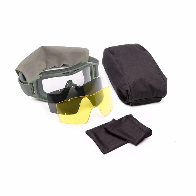 Masque Revision Desert Locust Vert Olive pack Deluxe