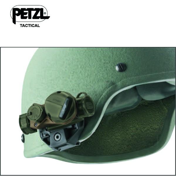 Adaptateur lampe PETZL Strix IR casque