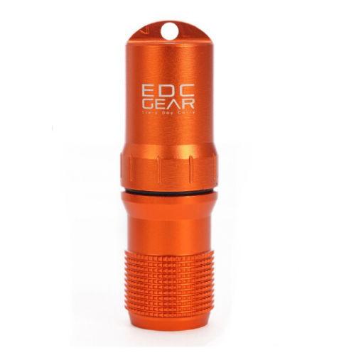 Boite étanche d'allumettes EDC Orange