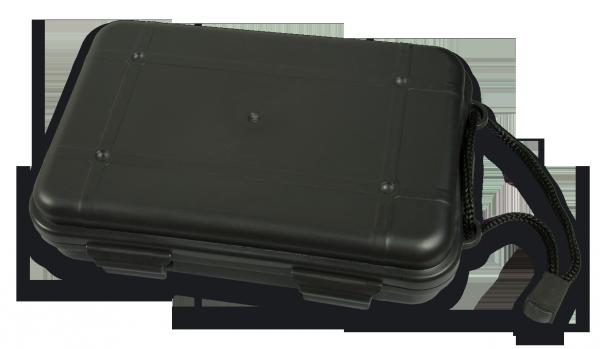Boite plastique noire étanche MANYVE