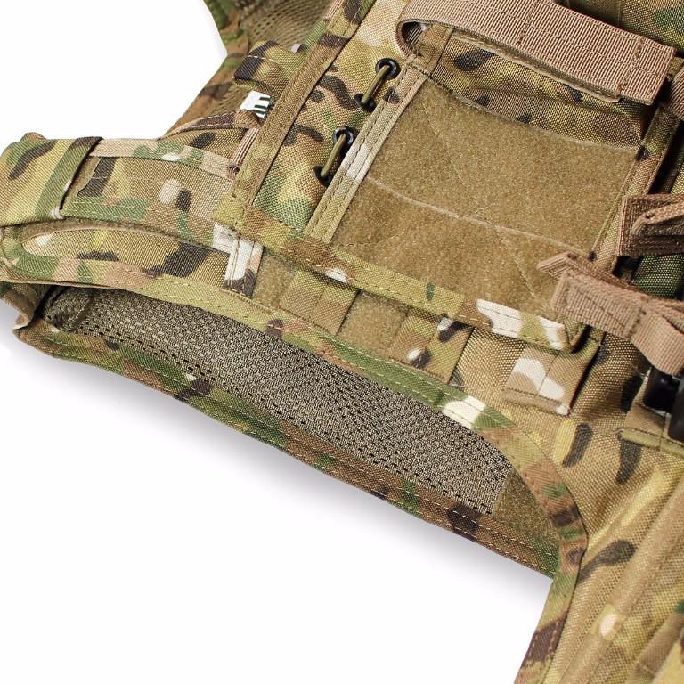 Gilet Porte-Plaques Modulaire Bulldog Tactical Camouflage