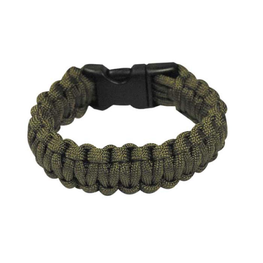 Bracelet paracorde Bulldog Tactical Vert taille M - 4.18€