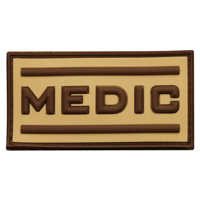 Patch 3D gomme souple Medic oryx - 10.00€