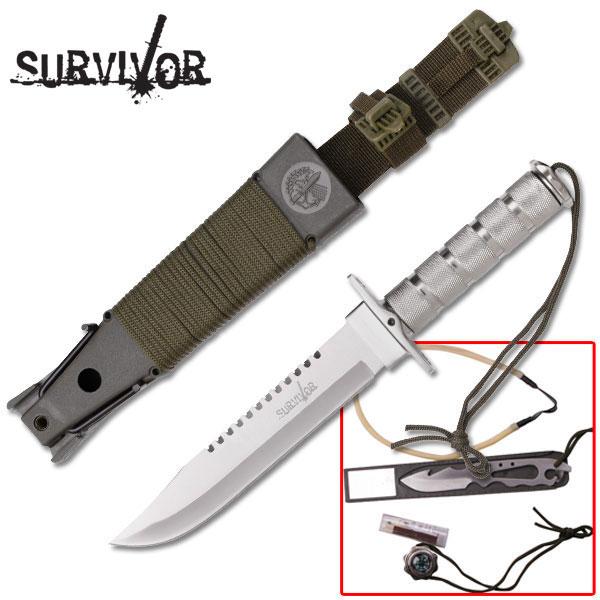Couteau de survie SURVIVOR - 36.00€