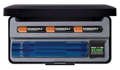 Mag-Lite X100 bleu en coffret