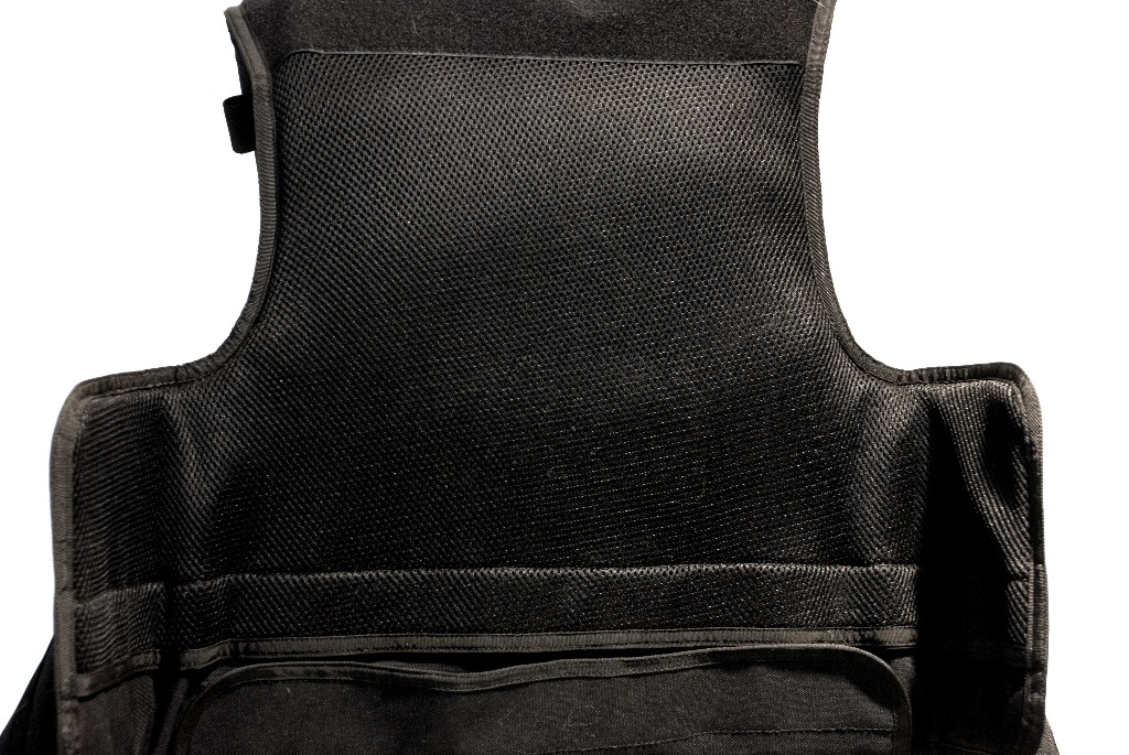 Gilet tactique porte-plaque NIDEC Defense