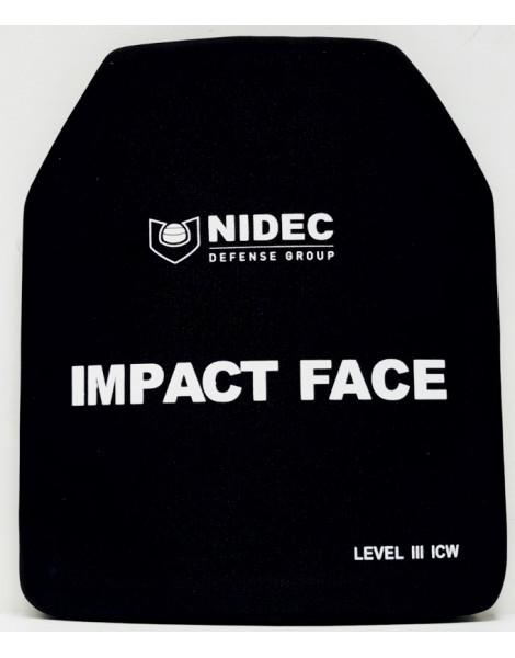 Plaques balistiques de niveau NIJ III ICW (la paire)