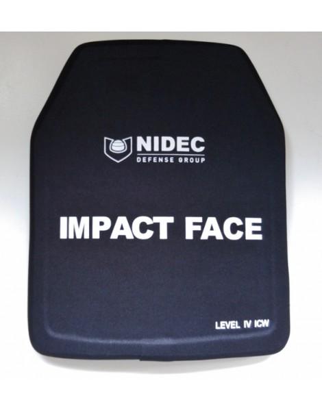 Plaques balistiques Niveau NIJ IV ICW (la paire)