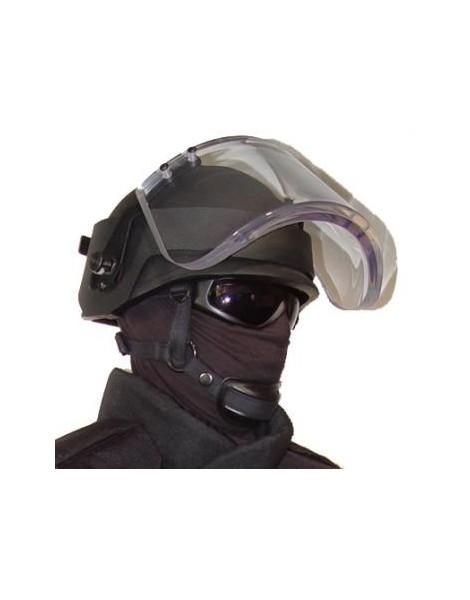 Visière pare-balles NIJ IIIA pour casque